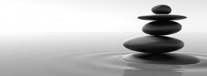 piedras amontonadas zen meditación